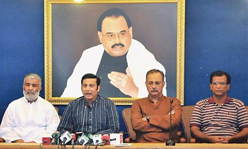 'No plot to divide MQM will succeed'