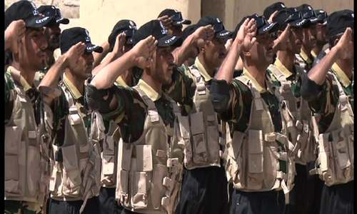 Pakistan Army trains 150 Levies personnel from Balochistan