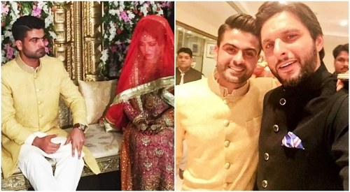 Welcome to the 'real' pavillion: Shahid Afridi to Ahmed Shahzad on his wedding