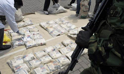 Kenyan cops find weapons, drugs on ship from India