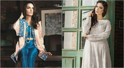 What to wear this Eid: Capes, lace and gently flared pants make the cut