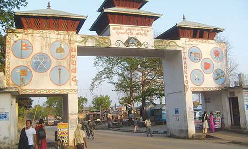 Issues of border towns between Nepal and India