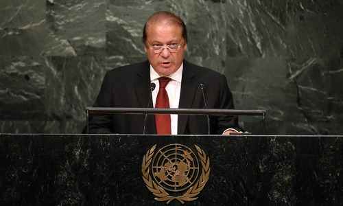 UNGA address: Nawaz proposes agenda to diffuse tensions with India