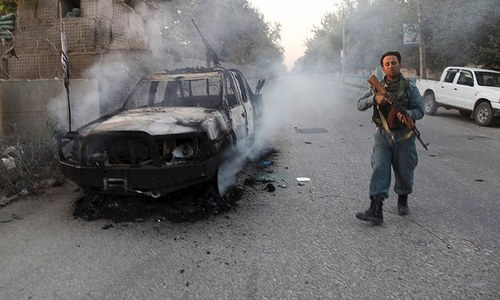 Afghan forces retake control of Kunduz from Taliban