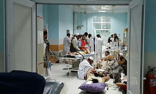 US air strike on MSF hospital kills nine in Afghanistan