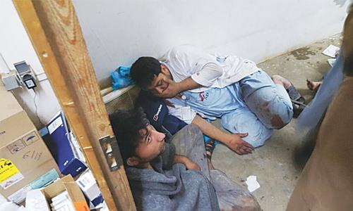 US planes bomb Kunduz hospital; 19 killed
