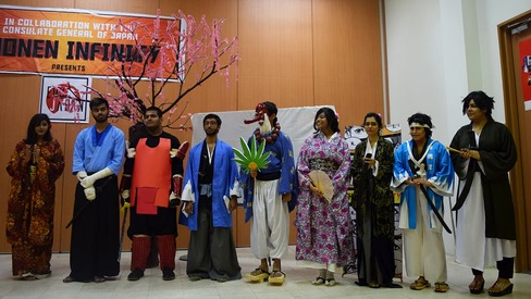 Cosplay lovers united: Japanese pop culture celebrated
