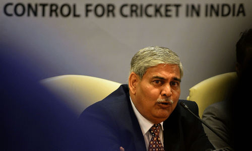 BCCI elects Shashank Manohar as new chief