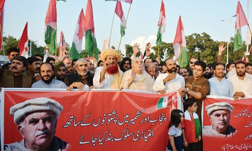 Achakzai warns against 'treating Pakhtuns like Afghan nationals'