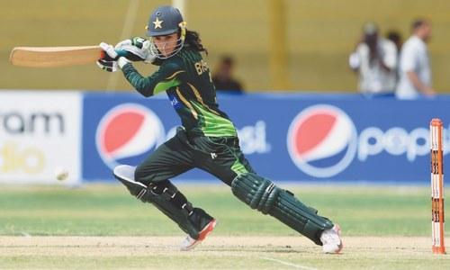 Bismah inspires Pakistan women to first ODI victory