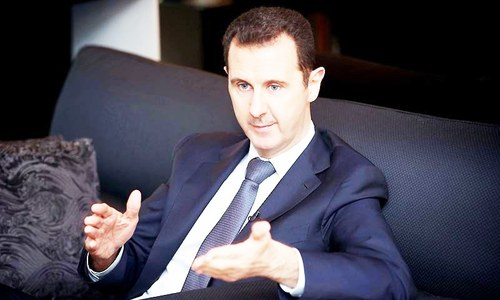 Military campaign by Syria, allies vital to save ME: Assad