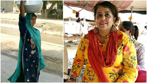 Indian filmmaker takes a fancy to Harappa's gypsy girl