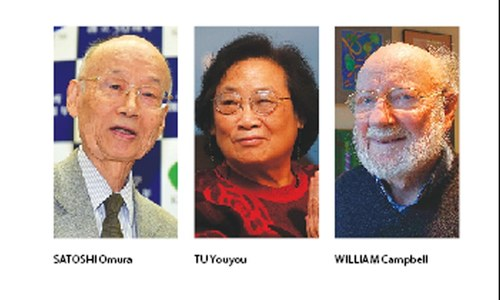 Chinese, Irish, Japanese win medicine Nobel