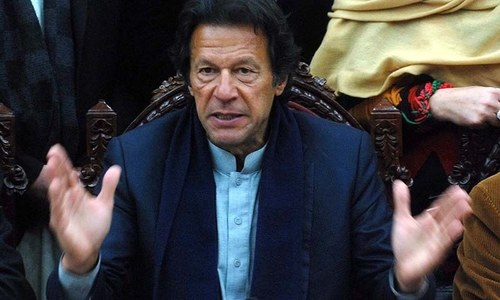 PTI legislators opposing COI bill will be ousted from party: Imran Khan