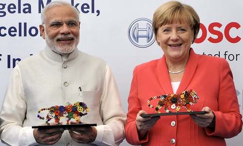 Modi promises German companies easy ride as Merkel visits