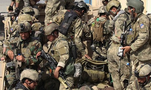 Afghan troops hold centre of Kunduz