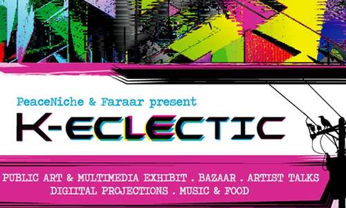 K-Eclectic — music, art bazaar and more