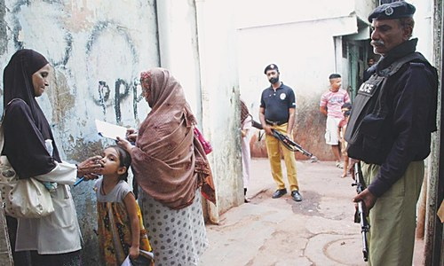 18-month-old girl becomes Karachi's first polio victim in a year