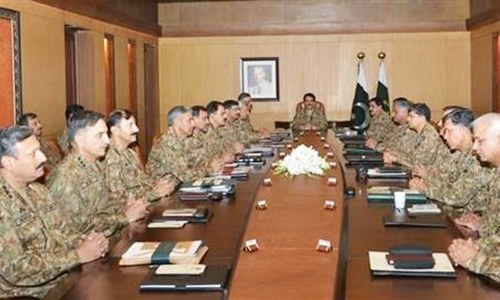 Commanders discuss Afghan situation