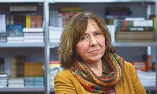 Alexievich's selection for Nobel Prize sends a message to Kremlin