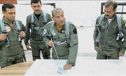 Pakistan wants peace in region: PAF chief