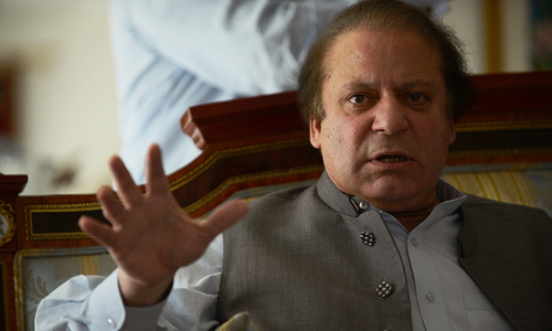 PM Nawaz says working for revival of Afghan peace talks