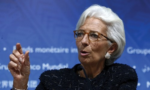 IMF's credibility at stake in reform row: Lagarde