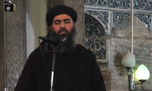 Islamic State figures killed in air strike; Baghdadi not believed among them