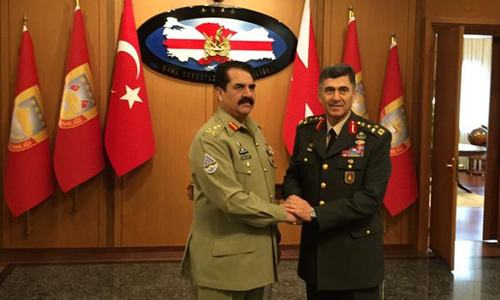 We stand by you, Gen Raheel tells Turkish counterpart