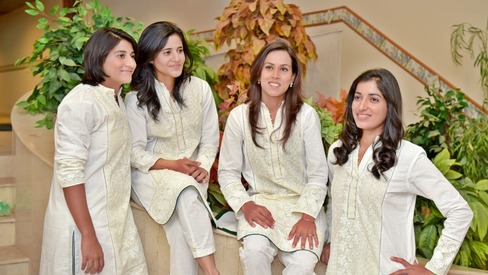 Pakistan women's cricket team gets stylish with off-duty kurtas