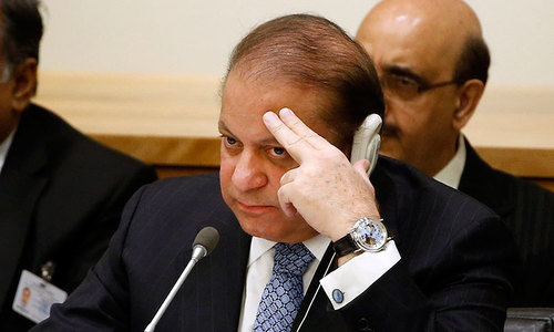 Sharif shortens visit to US