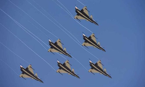 China's air force can launch long-range precise strikes
