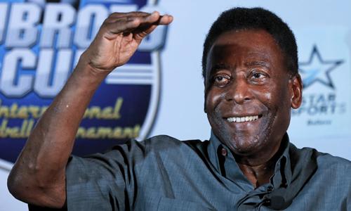 Pele says FIFA scandal won't destroy 'beautiful game'