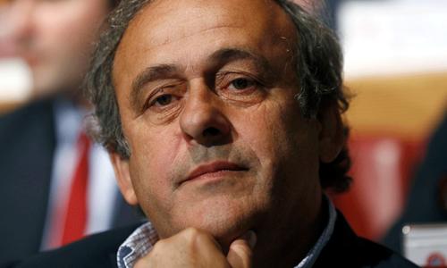 UEFA decides to back suspended Platini