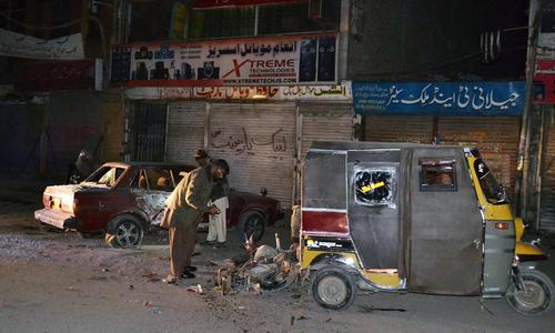 Suicide blast outside imambargah in Bolan district kills 10