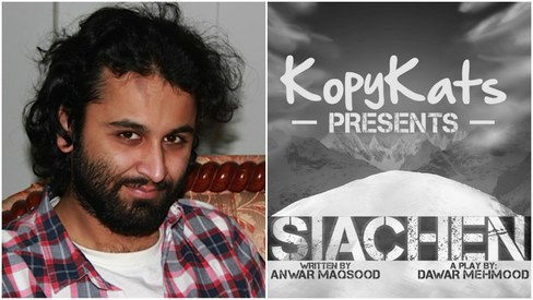 Our new play Siachen will blow you away, says Dawar Mehmood