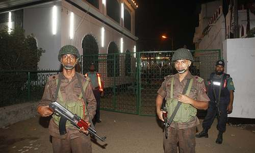 At least one killed, 80 wounded as blasts target Bangladesh procession
