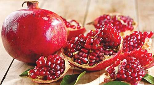 Health benefits — The pomp of pomegranate