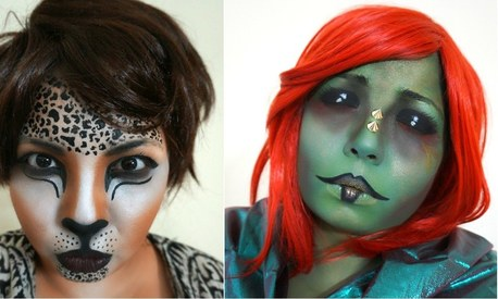 4 fierce Halloween looks you can recreate with make-up