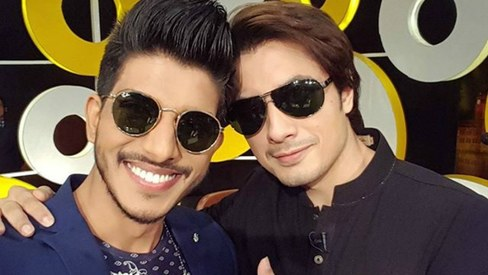 Selfie of the week: Ali Zafar and Mohsin Abbas Haider are all smiles