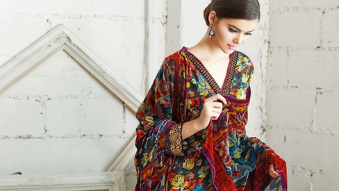 Get royal: Gul Ahmed's Silk Velvet line is out for winter