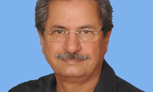 Shafqat Mehmood steps down from post after PTI's dismal performance
