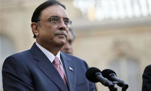 PPP 'alive and kicking', claims Zardari