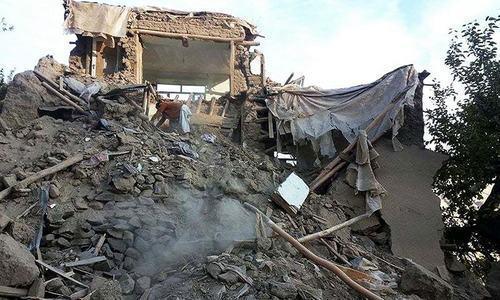 World Heritage sites developed cracks in Oct 26 quake