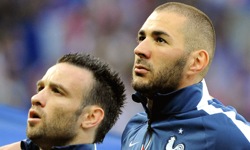 Benzema held over blackmail case