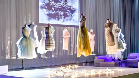 How bright did Pakistan shine at Swarovski's Sparkling Couture exhibition?