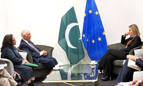 Pakistan's location key within Asia, Aziz tells meeting of Asia-Europe ministers