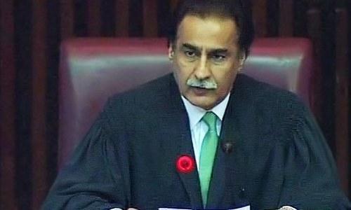 Ayaz Sadiq elected NA Speaker again