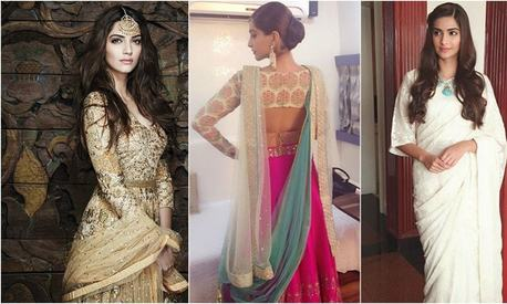 Fit for a queen: Sonam Kapoor slays during Prem Ratan Dhan Payo promotions