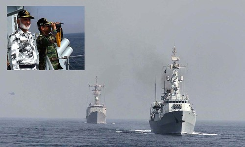 Naval, PAF Chiefs witness exercise 'Sea Spark'